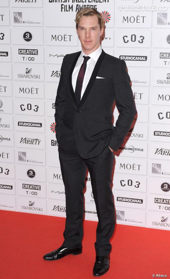 """Cette année Benedict Cumberbatch a aussi remporté le titre de l'homme le plus sexy du monde... Grâce au magazine """"The Sun"""""""