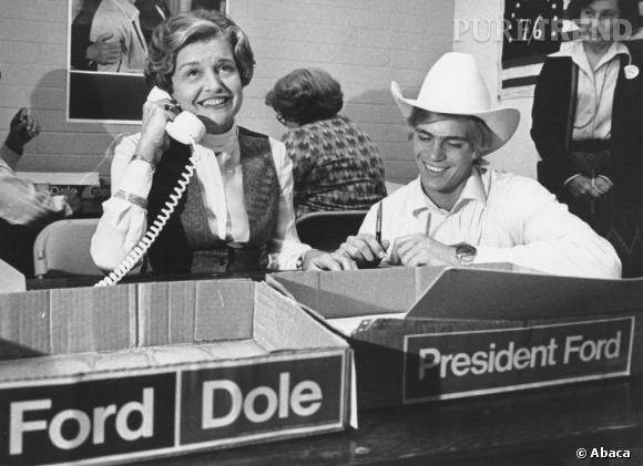 Betty Ford, first lady dans les années 70, prouve que cette coupe se porte de tout temps.