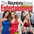 Le numéro spécial Réunions d'Entertainment Weekly.