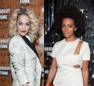 Rita Ora et Solange Knowles : deux it girls pour le prix d'une au lancement Tune d'Absolut