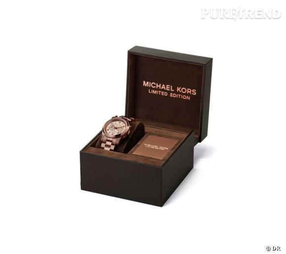 """Montre """"Paris Limited Edition"""" de Michael Kors."""