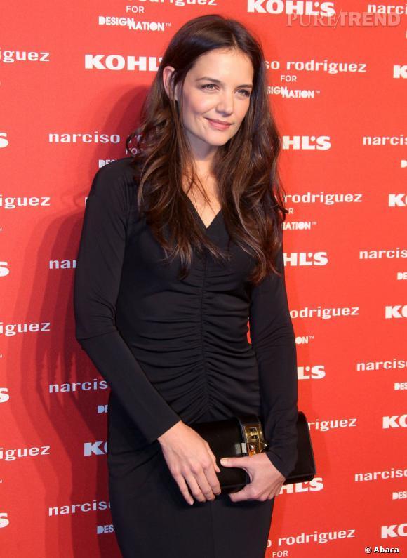 Katie Holmes à la soirée Narciso Rodriguez et Khol's à New York.