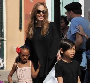 Angelina Jolie : ses enfants Pax et Zahara dans ''Maleficent''