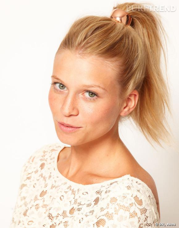 Elastique pour cheveux doré Asos, 14,12 €