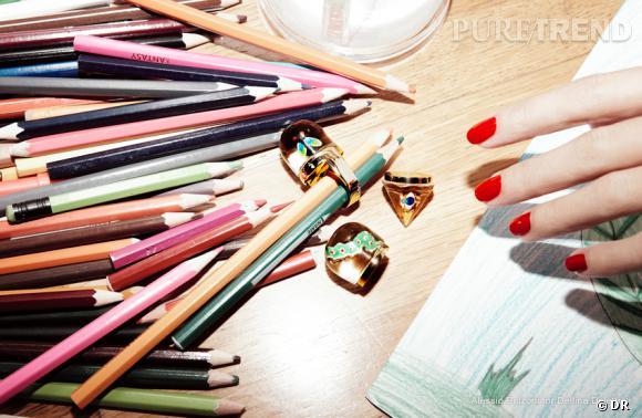 Collection Delfina Delettrez pour yoox.com.
