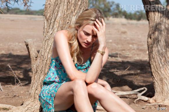 Extrait d'Un plan parfait aux côtés de Dany Boon, Diane Kruger porte la montre Reverso de Jaeger-LeCoultre.
