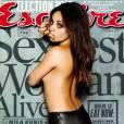 Mila Kunis en couverture d'Esquire US en novembre 2012.