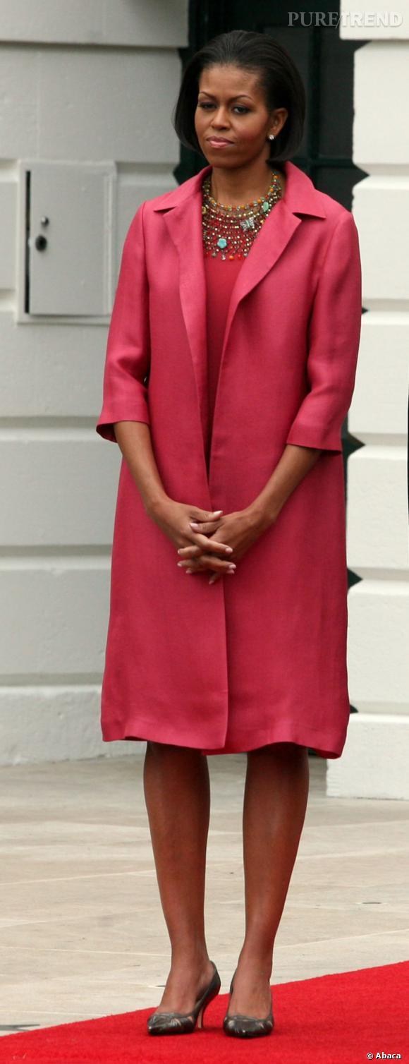Michelle Obama en 2010 : une first lady modèle.
