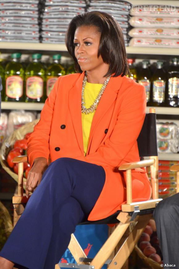 Michelle Obama attaque 2012 en couleur !