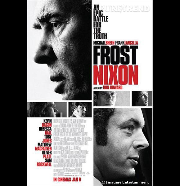 """Dans """"Frost/Nixon"""", Frank Langella donne la réplique à Michael Sheen."""