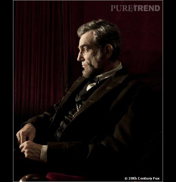 Daniel Day-Lewis a été parfaitement maquillé pour ressembler le plus possible à Abraham Lincoln.