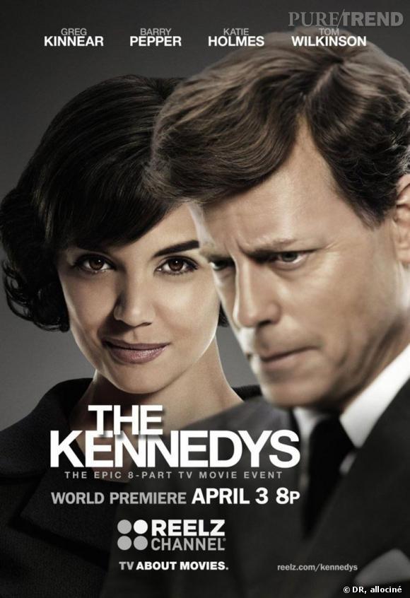 """""""The Kennedys"""", la série qui retrace la vie du Président John F. et de sa femme Jackie."""