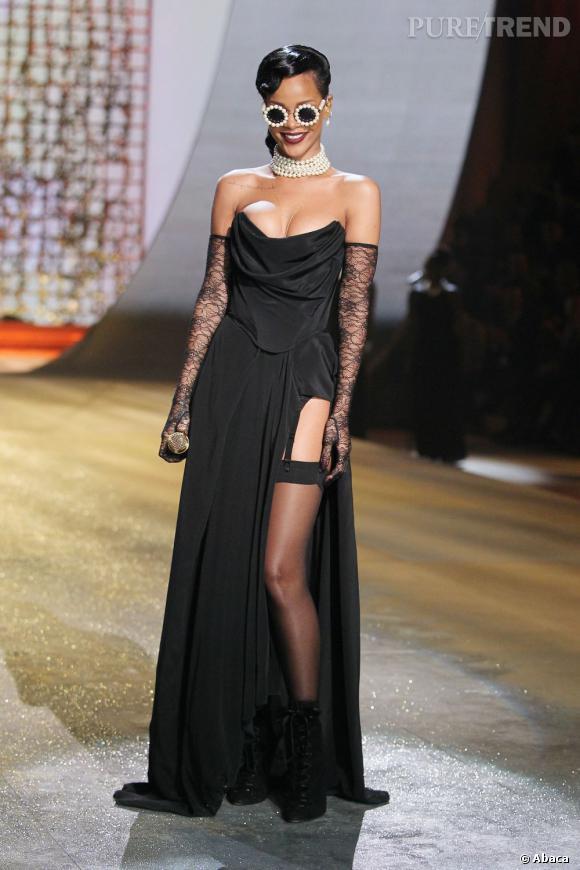 Rihanna véritable diva en Vivienne Westwood.