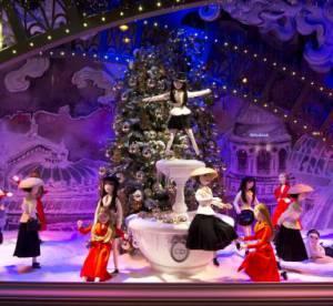 Les vitrines du Noël du Printemps dévoilent les Inspirations parisiennes de Dior