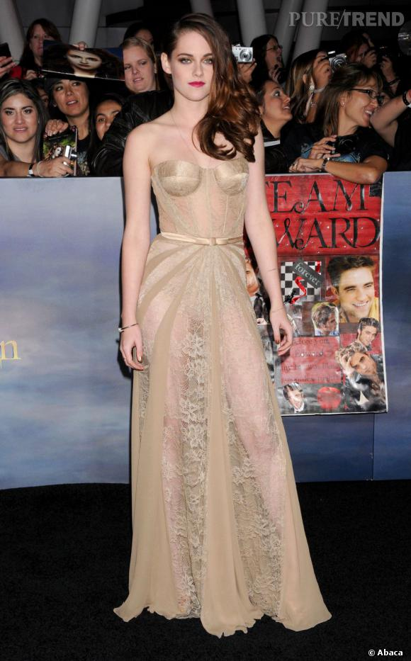 Impossible d'oublier Kristen Stewart en Zuhair Murad. La star monte sur la première marche du podium des tops de la semaine