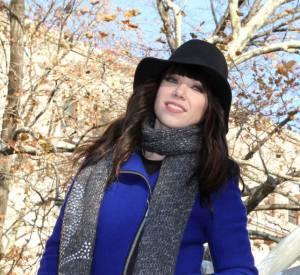 Carly Rae Jepsen : Associer du bleu et du rouge ? C'est certes patriotique mais pas vraiment tendance.