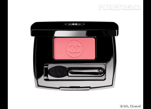 Ombre Essentielle, Rose Favorite, Collection Maquillage Croisière 2012 de Chanel, 27 €. En édition limitée.
