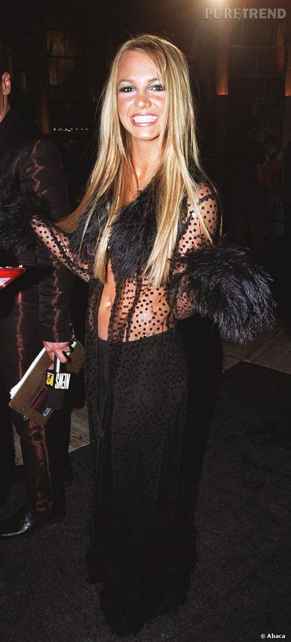 Le flop look sexy  : Britney Spears en fait trop...