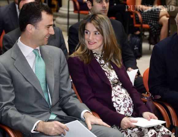 La Princesse Letizia d'Espagne a deux filles : Leonor et Sofia.