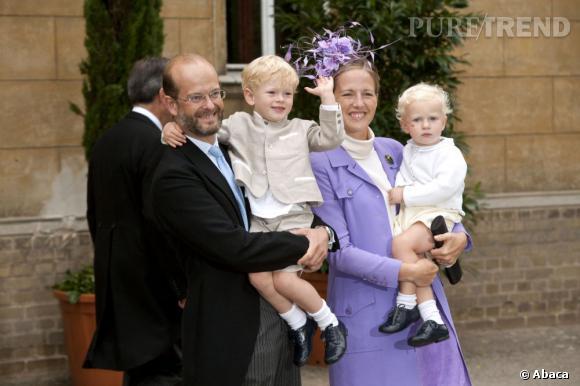 La Princesse Paola de Windsor a deux enfants : Albert et Leopold.