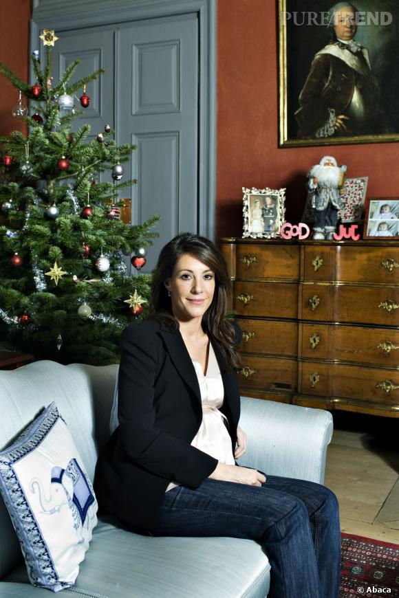 La Princesse Marie de Danemark a deux enfants, Henrik et Athena.