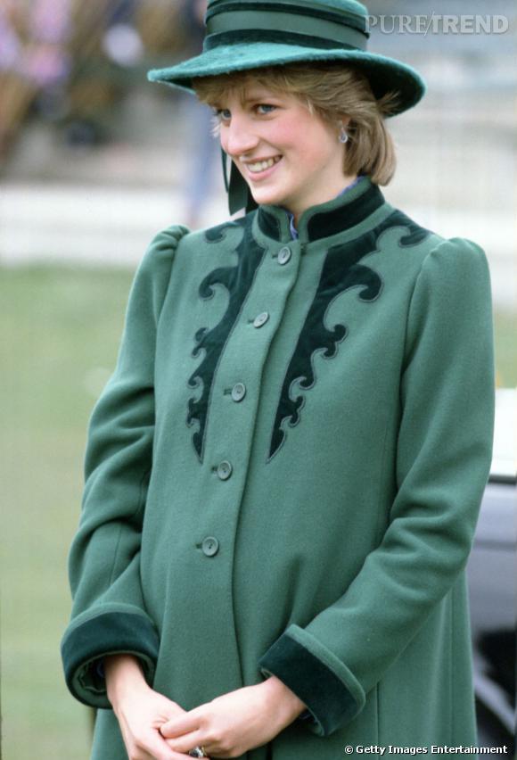Lady Diana, toujours très élégante, même enceinte !