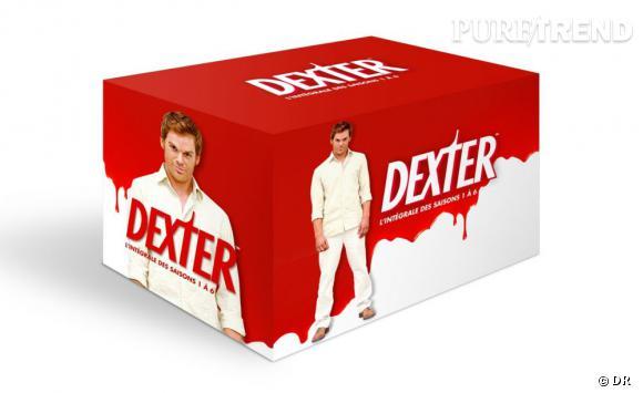 """La série : """"Dexter"""", l'intégral de la saison 1 à 6.  Pour qui ? Votre frère, votre soeur, votre papa... les fans de """"Dexter"""" sont très nombreux ! Vous pouvez être certain d'une chose, ce cadeau ne peut que faire plaisir.  Le prix : 79.99 euros"""