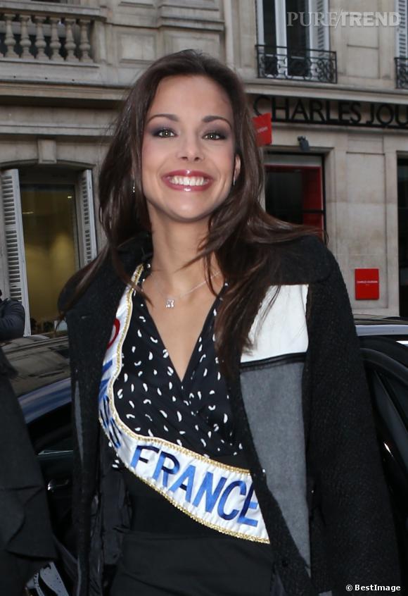 Marine Lorphelin : ses premiers pas de Miss France pour Europe 1.