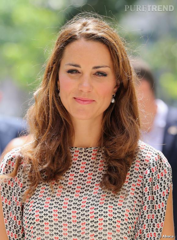 Kate Middleton,  personnalité britannique la plus recherchée sur Google Uk en 2012.