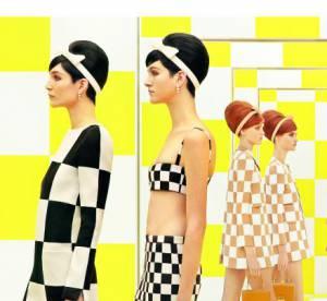 Louis Vuitton : Un jeu de Dames signé Daniel Buren pour l'été 2013