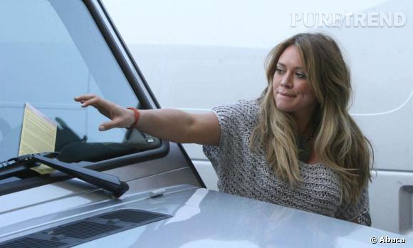 Hilary Duff aurait dû payer le parking !