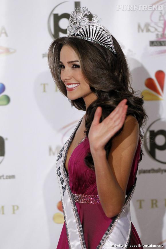 Olivia Culpo avant de devenir Miss Univers a été élue Miss USA.