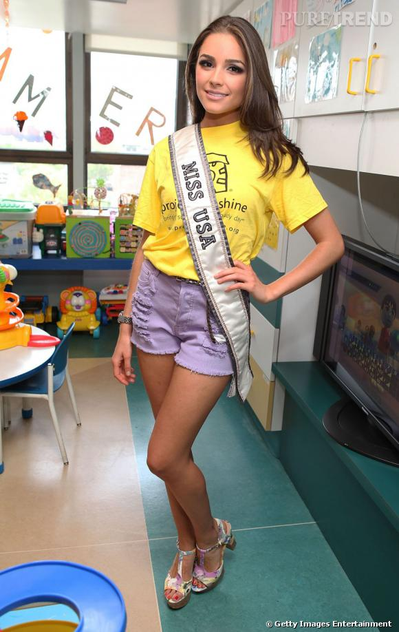 Olivia Culpo a été Miss Rhode Island avant de devenir Miss USA puis Miss Univers.