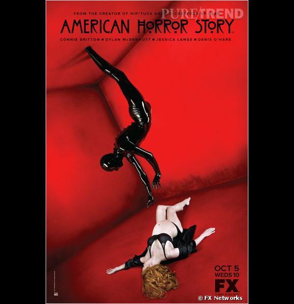 A comme American Horror Story, la série qui rafle les nominations et terrifie les spectateurs.