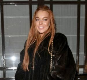 Lindsay Lohan : exil londonien en deux looks pour le 31