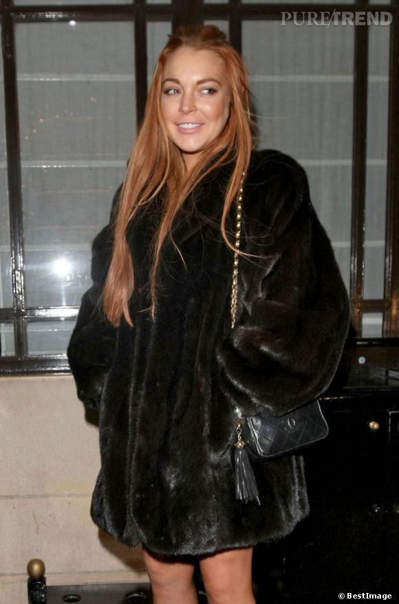 Lindsay Lohan s'exile à Londres pour les fêtes.