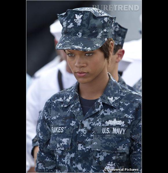 """Rihanna, élue pire actrice de 2012 pour """"Battleship""""."""