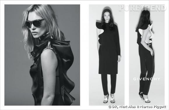 Kate Moss dans la Campagne Printemps-Été 2013 Givenchy.