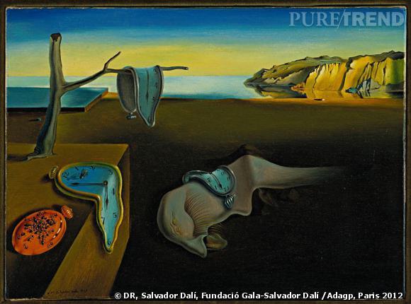 Salvador Dali Persistance de la memoire 1931 Museum of Modern Art MoMa New York USA.