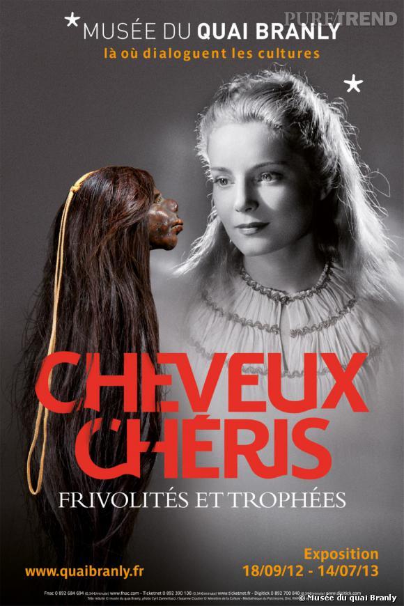 """L'exposition """"Cheveux Chéris"""" au Musée du quai Branly fait la part belle aux coiffures d'hier à aujourd'hui."""