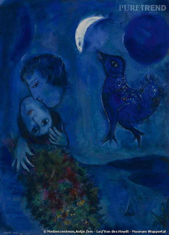 Marc Chagall - Le Paysage Bleu, 1949.