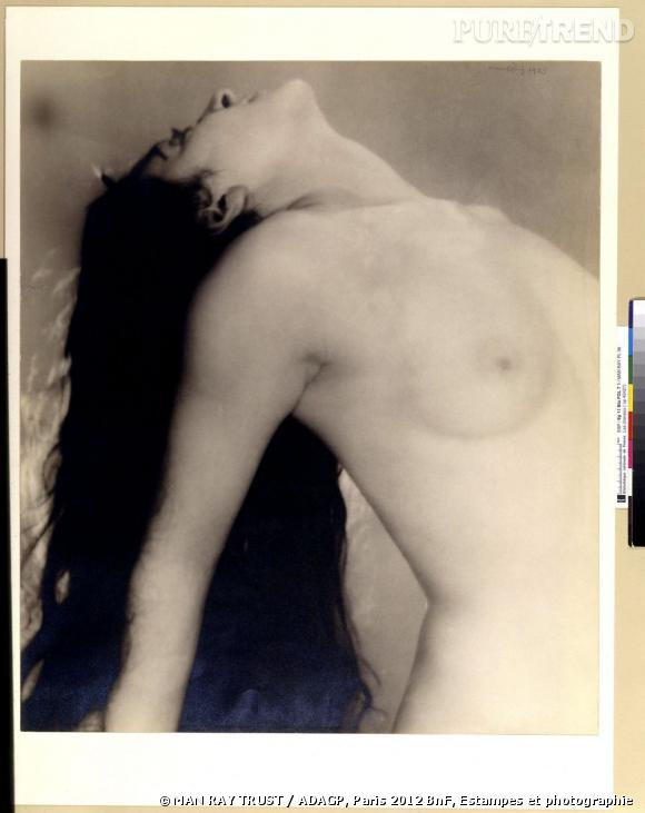 Man Ray (1890-1976). Grand nu renversé en arrière, 1923. Tirage argentique. Acquisition auprès de l'auteur en 1958.