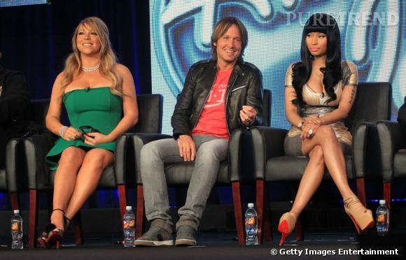 Mariah Carey et Nicki Minaj enterrent la hâche de guerre autour d'une sex-tape.