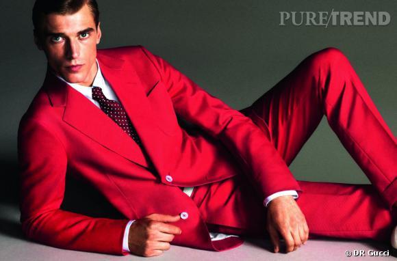Les mannequin Homme français à connaîtreClément Chabernaud dans la campagne Gucci Printemps-Eté 2013