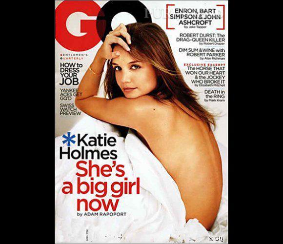 Katie Holmes intègre le top des femmes les plus sexy du millénaire du magazine GQ.