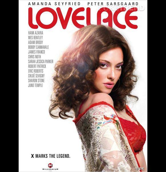 Amanda Seyfried joue Lovelace, une star du X qui s'est ensuite opposée à l'industrie du porno.