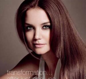 Katie Holmes : le nouveau visage d'Alterna Haircare