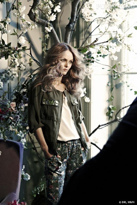 Vanessa Paradis, nouvelle égérie de la collection H&M Conscious.