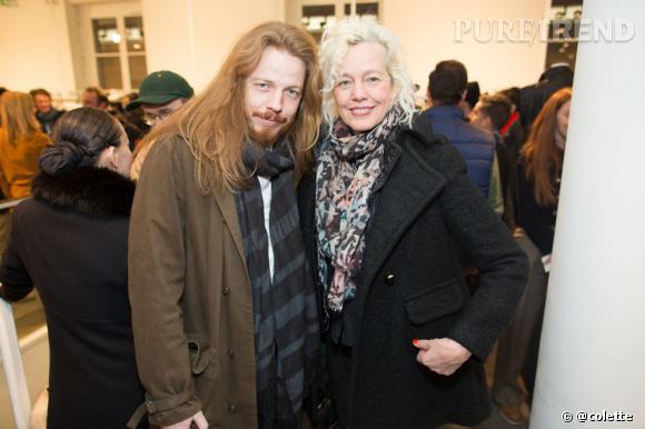 La photographe Ellen Von Unwerth à la soirée du 22 janvier 2013 chez colette.