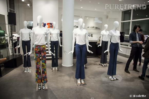 Présentation de la nouvelle collection des jeans The Seafarer à la soirée du 22 janvier 2013 chez colette.